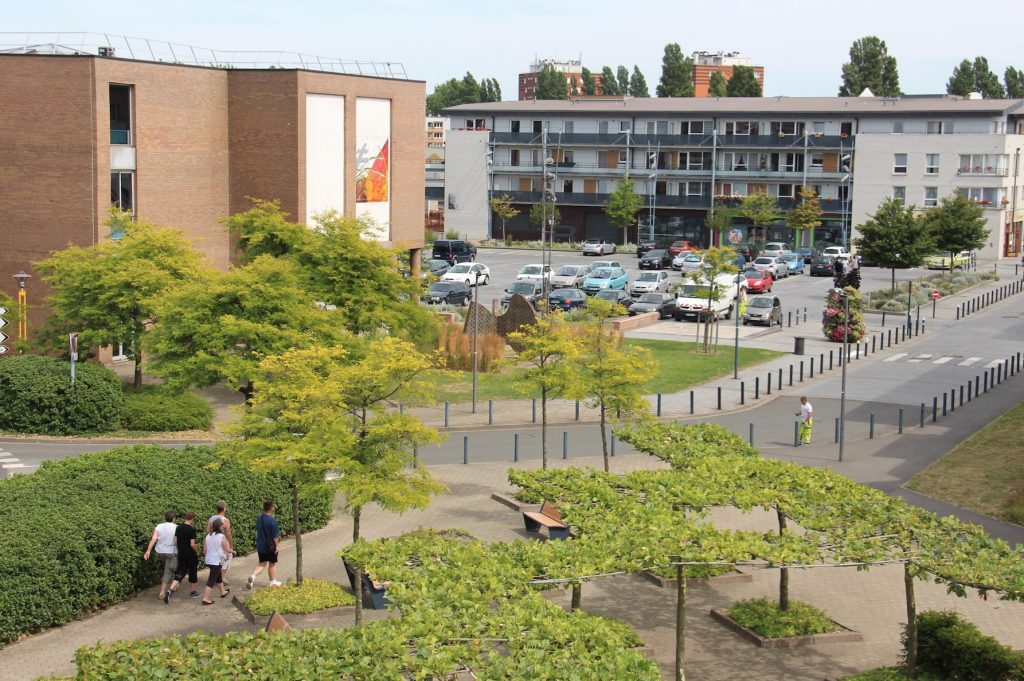 Promenade en centre ville