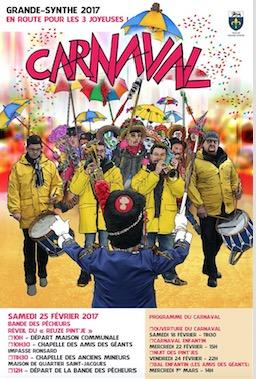 Préparez vos costumes et venez carnavaler avec nous !