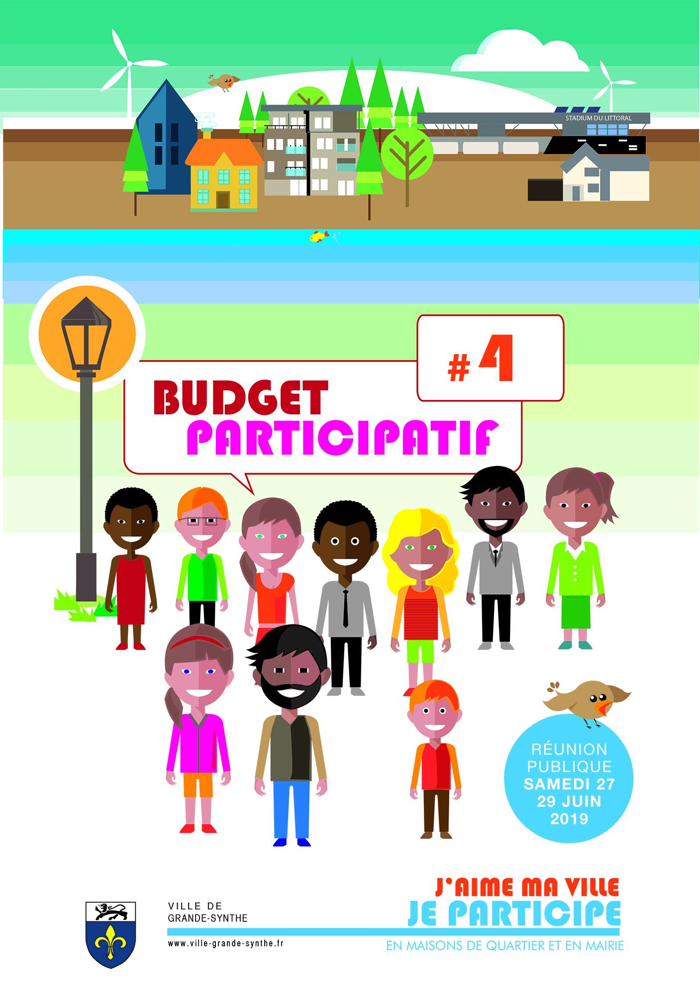 Réunion Publique Budget participatif #4